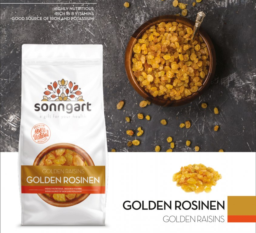 GOLDEN ROSINEN